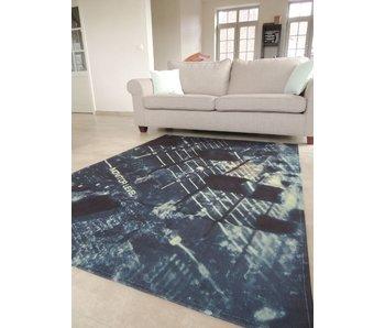 Tapijt / vloerkleed met print van DJ draaitafel 140x200 cm