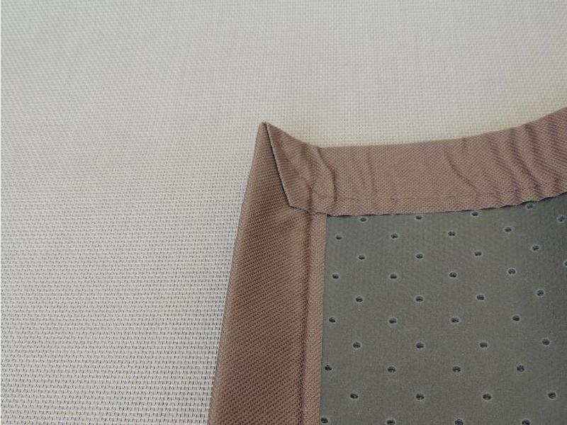 Bruin tapijt voor buiten 120x180