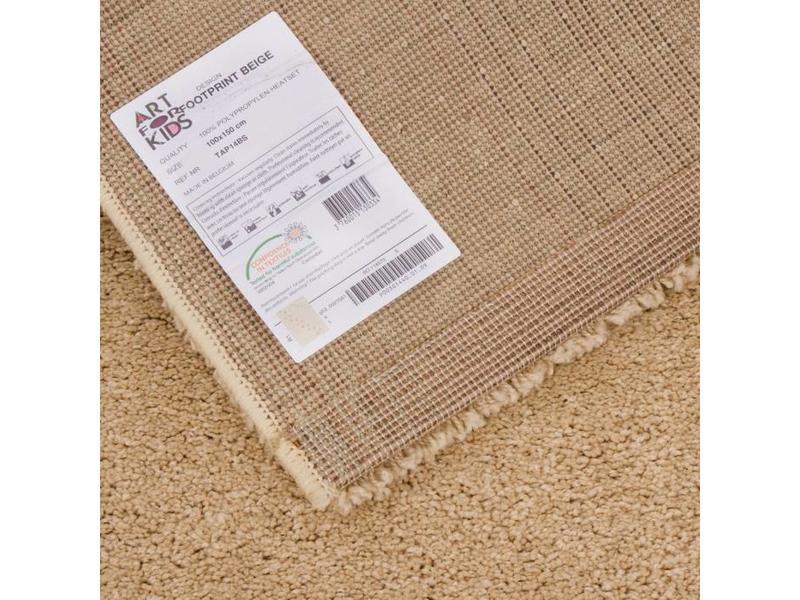 Beige tapijt voor kinderkamer 100x150cm