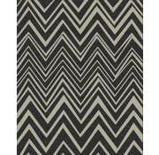 Sisal tapijt zwart/grijs