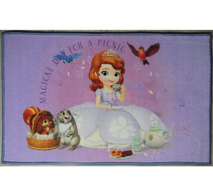 Tapis chambre enfant Disney Sofia The First