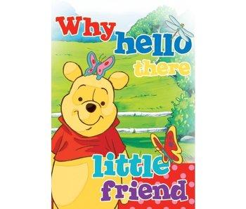 Winnie The Pooh tapijt voor babykamer