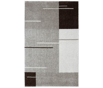 Grijs modern tapijt