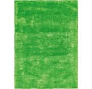 Hoogpolig kindertapijt groen