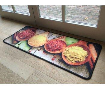 Kleurrijke keukenmat