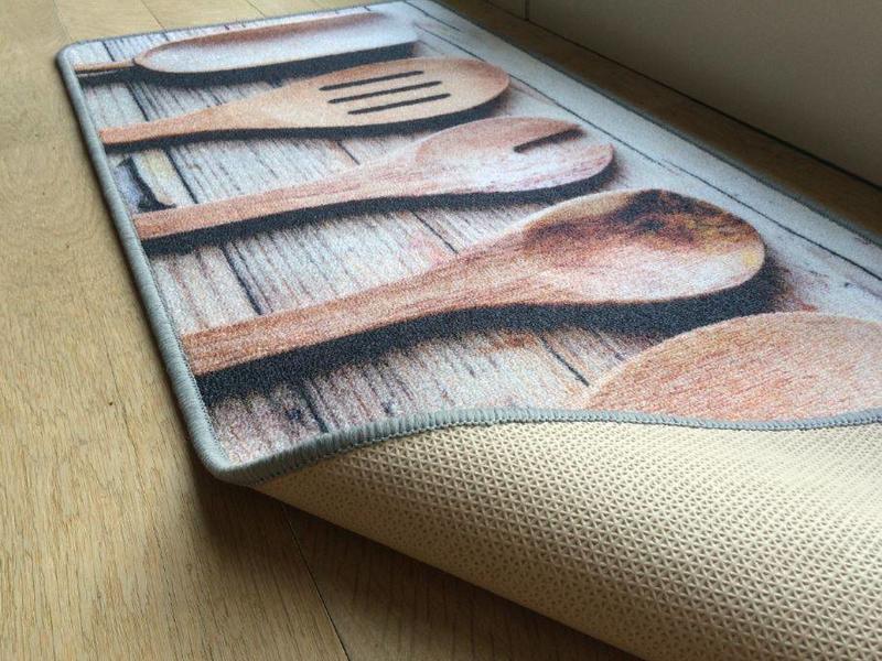 Tapis de cuisine antidérapant, 50x120cm