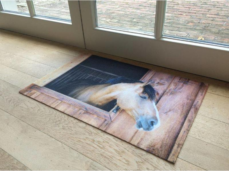 Paillasson cheval 50x80cm