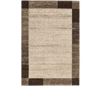Bruin modern tapijt