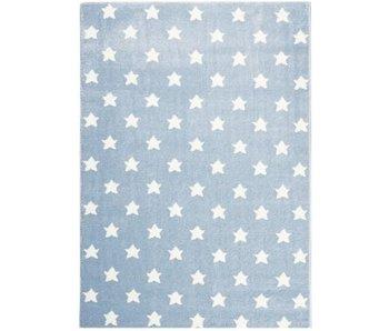 Mooi blauw tapijt met sterren 120x180cm