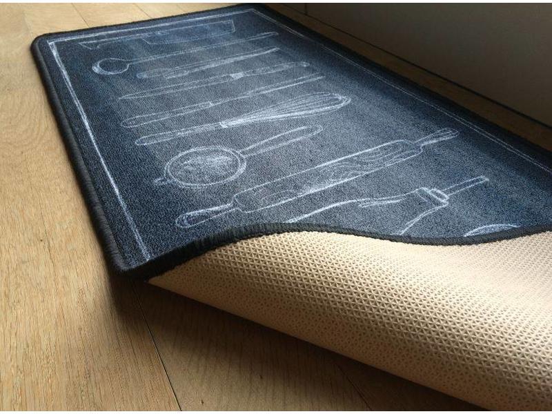 Tapis de cuisine original, 50x120cm