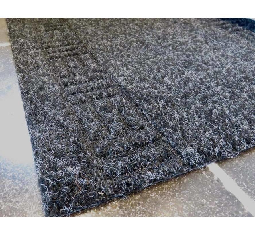 tapis de couloir sur mesure, AIGUILLETE, 66 cm largeur, anthra