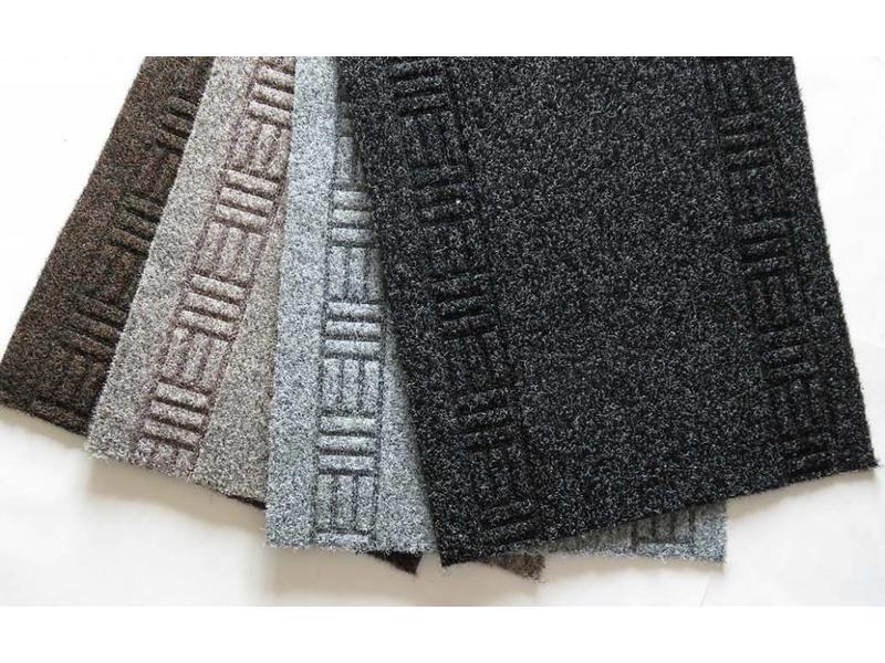tapis de couloir bien marché, AIGUILLETE, 50 cm largeur, beige