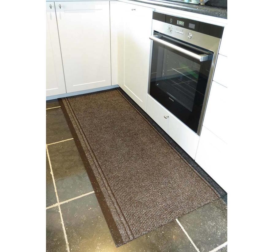 Keukenloper op maat malaga bruin 66 cm
