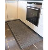 Keukenloper op maat Malaga- GRIJS- breedte  66  cm