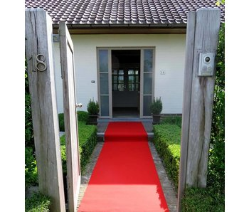 tapis rouge sur mesure, 100 cm largeur