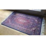Klassiek tapijt paars/blauw
