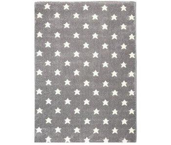 Mooi grijze tapijt met sterren 120x180m