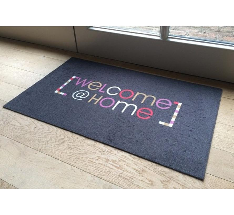 Tapis d'entrée Welcome @ home