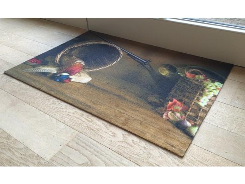 Deurmat met print voor binnen 60x90cm
