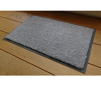 Paillasson gris argent Eco-clean
