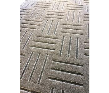 tapis d'entrée en dalles modulaires, emballé par 1m² ou 24 dalles