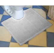 contour pour toilette, gris clair