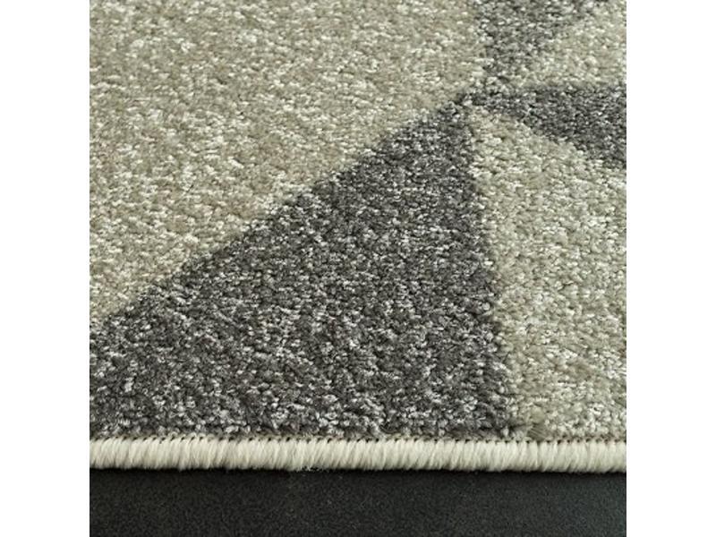 Tapis moderne gris