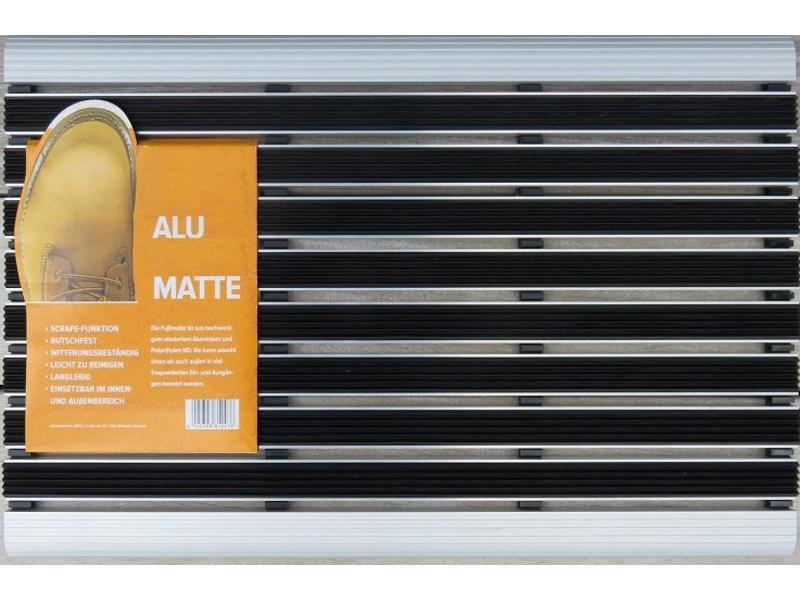 Tapis grattant, combinaison d'aluminium et polyéthylène, 40x60cm