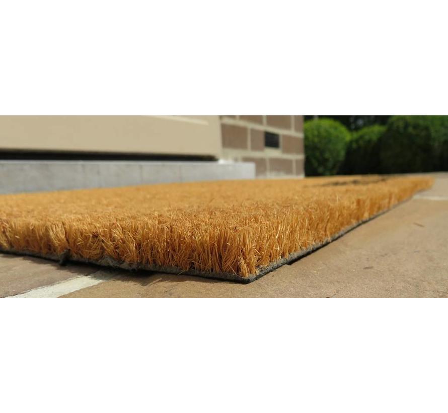 tapis en coco, imprimé à la main, 40x60cm
