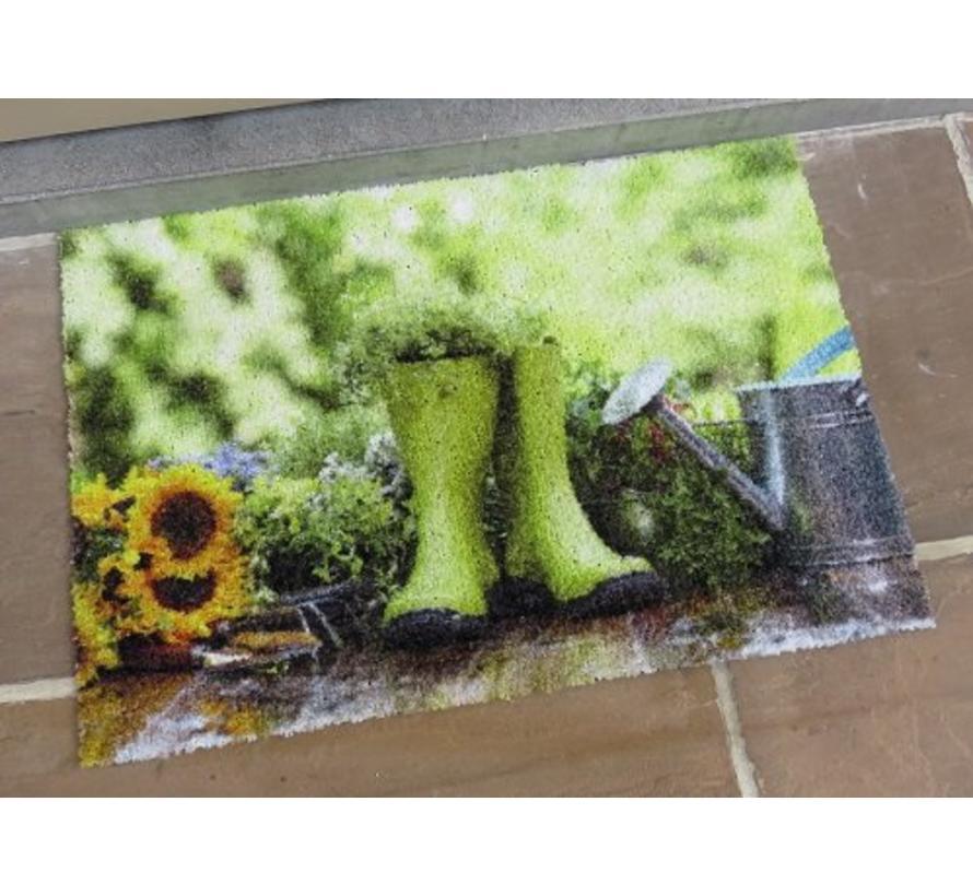 Paillasson pour l'intéreieur et l'extéreieru, photo imprimé, 40x60cm et 50x80cm
