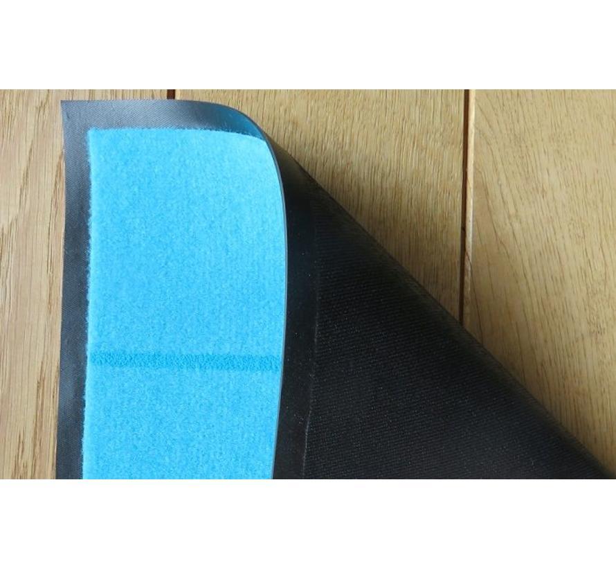 Tapis d'entrée bleu écologique et thermo imprimé Home