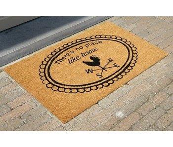tapis coco imprimé de style, 45x75cm