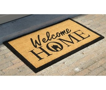 tapis coco imprimé Welcome Home, 45x75cm