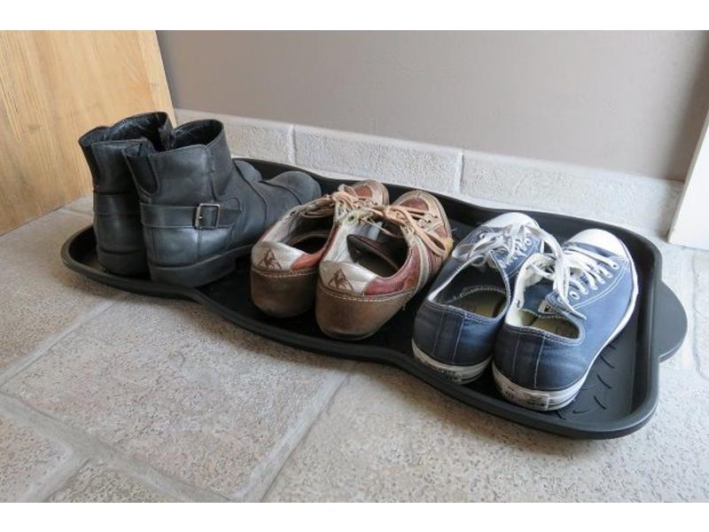 Plateau pour chaussures, convient pour 3 paires, format 75,5x38x3cm