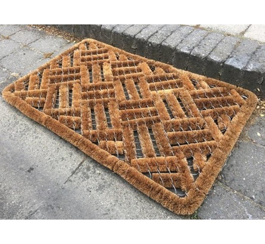 tapis brosses à coco, usage extérieur