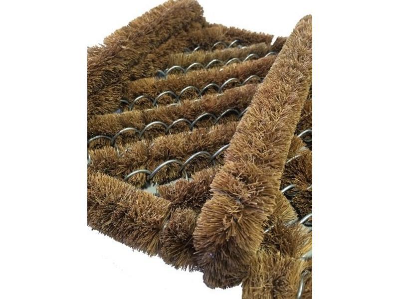 Gratte-pieds aux brosses à coco, 30x35cm