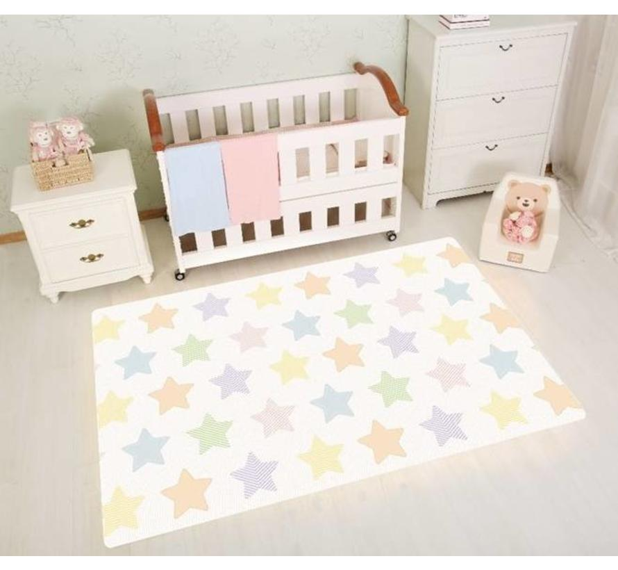 Tapis de jeu décoratif et lavable, format 100x140cm