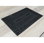 Rubber deurmat schrapend Welcome