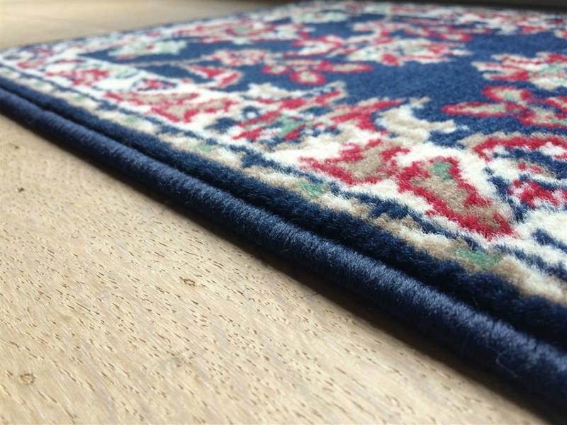 Tapis passe-partout classique, bleu, 40x60cm
