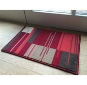 Tapis modern rouge, 40x60cm