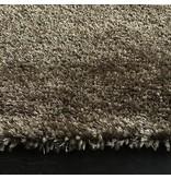 Luxueus hoogpolig tapijt in taupe