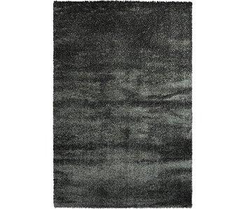 Luxe tapijt hoge pool antraciet