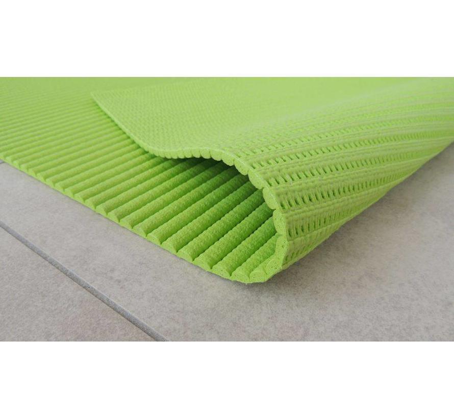 Antislip loper in groene kleur