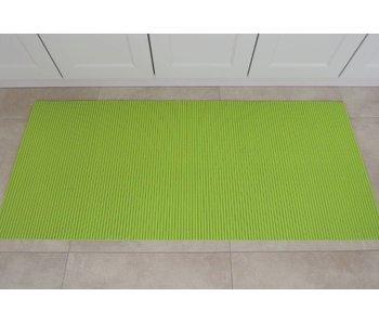 Groene loper voor keuken of badkamer