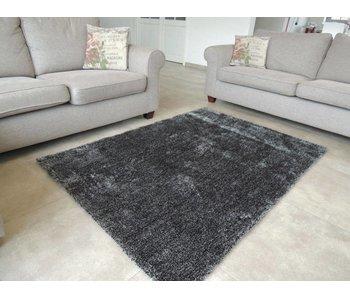 Luxe shaggy tapijt antraciet