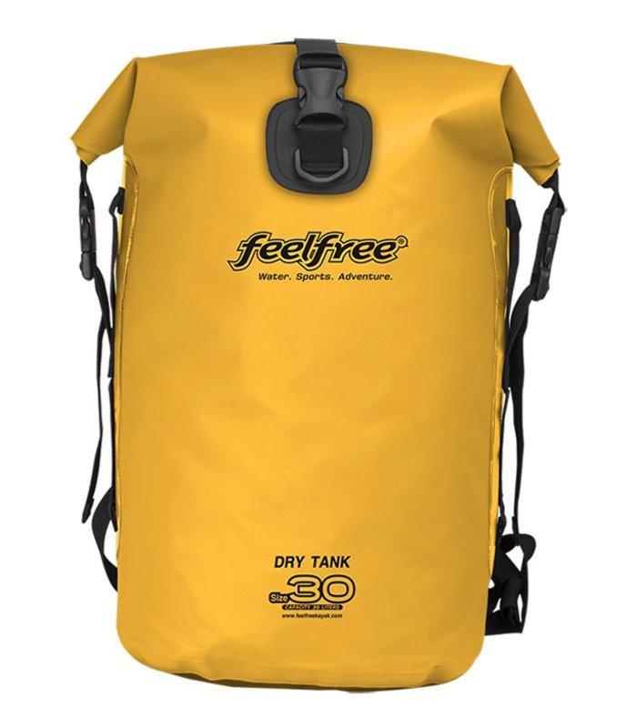 Feelfree Drytank 30 liter geel