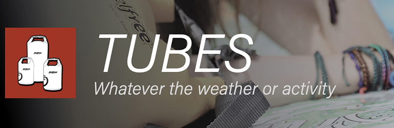 Categorie pagina waterdichte Drytubes Feelfree Gear op Drybagstore.nl
