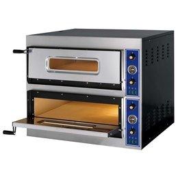 GGF E-Start Pizzaoven 6+6x30cm