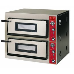 GGF Linea E Pizzaoven 4+4x30cm
