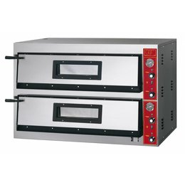 GGF Linea E Pizzaoven 6+6x30cm Diep Model